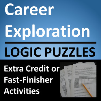 Career Exploration Logic Puzzle Activities