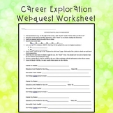 Career Exploration Worksheet