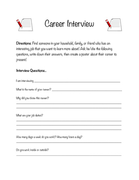 Career Interview for Career Day/Labor Day