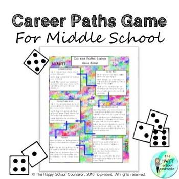 Career Paths Game Lesson Plan