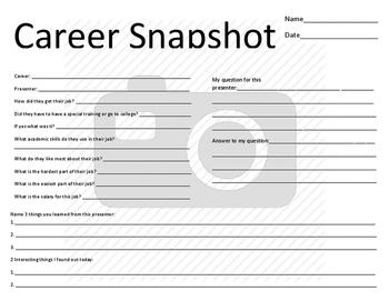Career Snapshot