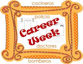 Career Week Activities (SPANISH)