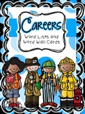 Career Word List and Word Wall Cards