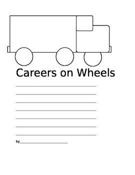 Careers on Wheels Writing Freebie