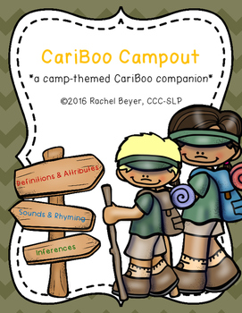 CariBoo Campout: A *FREE* Camp-Themed CariBoo Companion