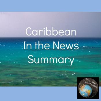 Caribbean In the News Summary