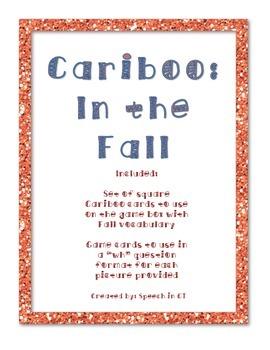 Cariboo Bundle: Fall, Halloween, Back at School