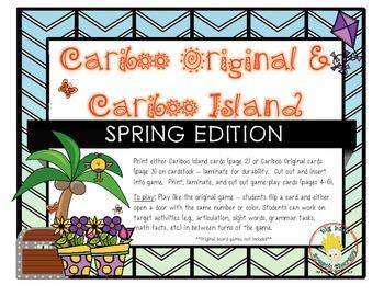 Cariboo & Cariboo Island for Spring: A Cranium Game Add-On
