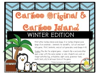Cariboo & Cariboo Island for Winter: A Cranium Game Add-On