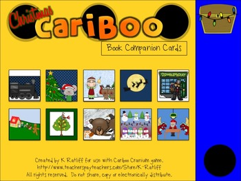Cariboo:  Christmas Book Companion Cards