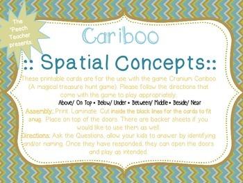 Cariboo: Spatial Concepts (4 concepts included)