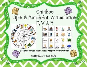 Cariboo Spin & Match for Articulation F, V & Y
