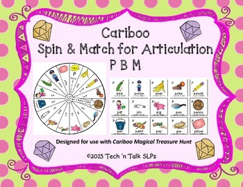 Cariboo Spin & Match for Articulation: P B M