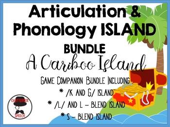 Caribou Island PhOnoLoGy BuNdLe!! /K&G/, /L/ & L-blends, a