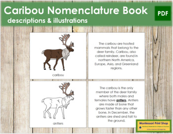 Caribou Nomenclature Book