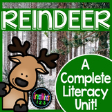 Reindeer Literacy Unit {Caribou Non-Fiction Common Core Al