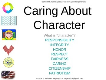 Caring About Character - Building character in students