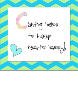 Caring Poster Freebie