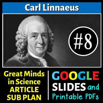 Carl Linnaeus - Great Minds in Science Article #8 - Scienc