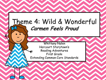 Carmen Feels Proud: Storytown's Extending the CCRS Reading