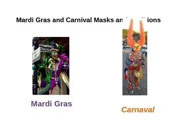 """Carnaval"" and ""Vejigante de Puerto Rico"" PowerPoint for S"