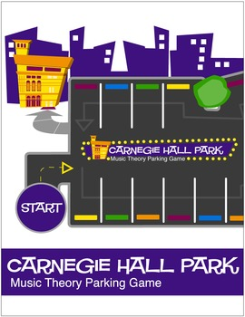 Carnegie Hall Park™ Music Theory Board Game (Digital Print)