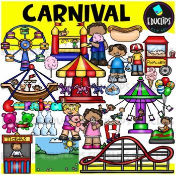 Carnival Clip Art Bundle {Educlips Clipart}