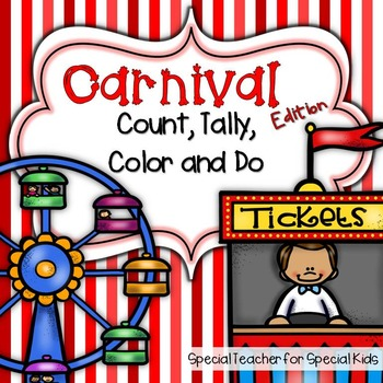 Carnival Edition * Color, Count, Tally & Do- Instant and I