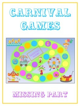 Carnival Games Math Folder Game - Common Core - Finding th