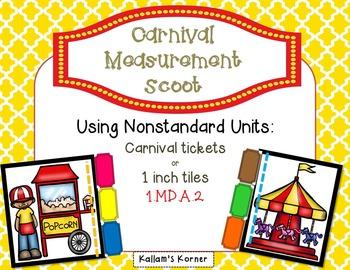 Carnival Measurement Scoot-   Nonstandard Units