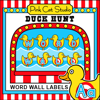 Word Wall - Carnival Theme Duck Hunt