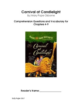 Carnival at Candlelight Comprehension Questions and Vocabu
