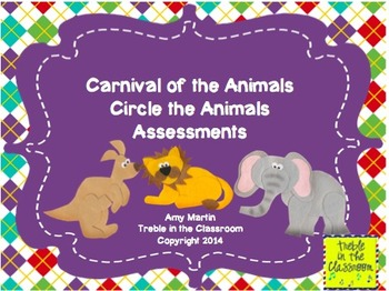 Carnival of the Animals Assessment Pack