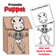Carnival of the Animals Craft Activity | Paper Bag Puppet