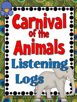 Carnival of the Animals Listening Logs-Listening Journals