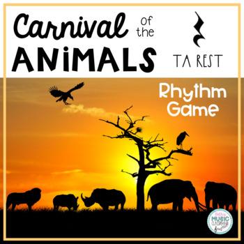 Carnival of the Animals (Saint-Saens) Themed Rhythm Game -