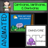 Carnivores, Herbivores, and Omnivores Power Point
