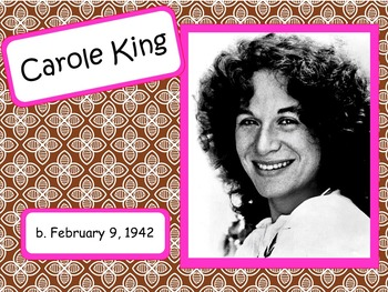 Carole King: Musician in the Spotlight
