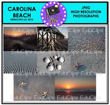 Carolina Beach Photo Set