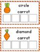 Carrot Shape Sorting