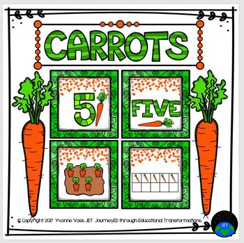 Carrots Numbers Match Up