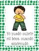 Carteles de buenos modales (Polka Dots) (Spanish)