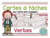 Cartes à tâches : Les verbes (à imprimer-printable)