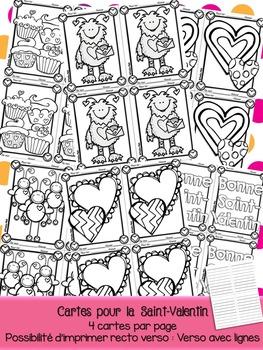 Cartes de Saint-Valentin - Courrier du coeur