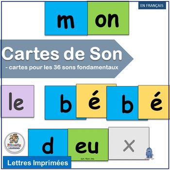 French: Cartes de Son complements Le manuel phonique by Jo