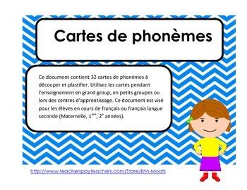 Conscience phonemique - Phoneme segmentation French Immersion