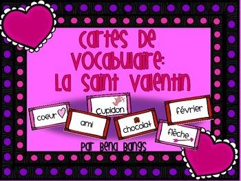 {Cartes de vocabulaire: La Saint Valentin!}
