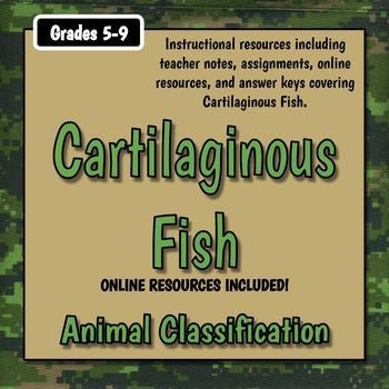 Cartilaginous Fish Teacher Notes & Assignments