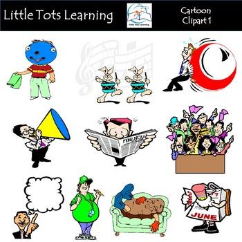 Cartoon Clip Art 1