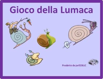 Casa (House in Italian) Lumaca Snail game